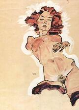 Egon Schiele Female Nude 11x8 inch Print