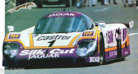 1988 JAGUAR XJR-9LM LeMans Racer SPEC SHEET / Brochure