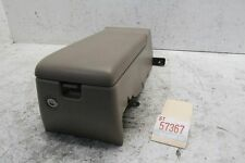 01 02 03 ACURA 3.2 CL TYPE S REAR SEAT LOWER CENTER CONSOLE STORAGE COMPARTMENT