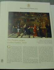 Documenta Vaticana Archiv Verlag Blatt 00501 Prozess gegen Galileo Galilei 1633