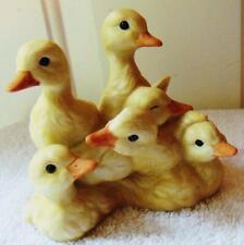 Vintage Homco Porcelain Baby Ducks figurine Tamiki Mizuno 1988 Free S/H