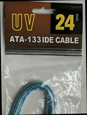 24 inch Ultra ATA 33/100/133 Dual IDE 40-Pin 80-Wire Silver Round Cable