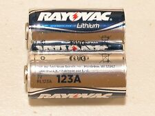 4 NEW RAYOVAC 123A CR123A 123 SF123A BATTERY CR123 LITHIUM EXPIRE 07/2026 USA