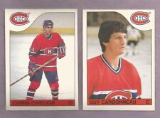 1985-86 OPC O-PEE-CHEE Montreal Canadians Team Set