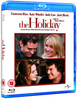 The Holiday Blu-Ray (2010) Cameron Diaz, Meyers (DIR) cert 12 ***NEW***