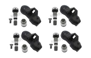 For BMW E60 E64 E65 E66 F01 F02 TPMS Sensor 433 MHz 4x Tire Pressure Monitor OEM