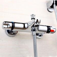 Murale salle de bains douche Set baignoire accessoires valve thermostat