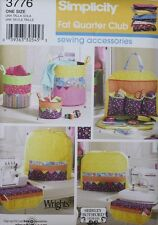 SEWING ROOM ACCESSORIES Simplicity Pattern 3776 NEW MACHINE COVER Fat Quarter