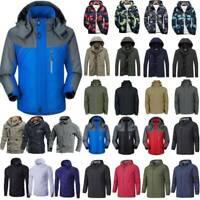 Mens Winter Jacket Ski Snow Hiking Windproof Warm Outdoor Mountain Coat Outwear