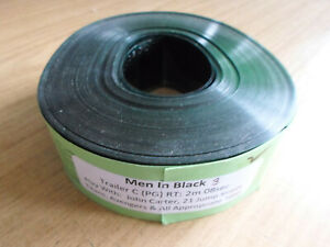35mm MEN IN BLACK 3 trailer. Will Smith sci fi comedy. (2012). Film cells.