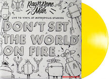 "RAG N BONE MAN 12"" Don't Set The World On Fire RECORD STORE DAY 2018 YELLOW New"