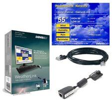 Davis 6555 WeatherLinkIP Vantage Pro2 6152 6162 Station WeatherLinkIP Software