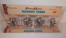 "Life-Like SceneMaster Barren Trees 3"" Tall #433-1984 Nip"