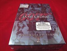 James Bond Ultimate Edition - Vol. 2 (DVD, 2006, 10-Disc Set) BRAND NEW - SEALED