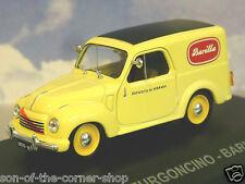 DIECAST 1/43 ITALIAN VAN COLLTN. FIAT 500 C FURGONCINO BARILLA PASTA SAUCES 1951