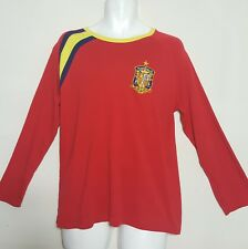 Football Soccer Size Large Official Lic Real Federacion Espanola Shirt