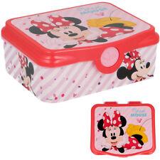 Frühstückbox  Mickey streifen grau 14,5 x 13 cm DISNEY