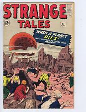 Strange Tales #97 Marvel 1962  Aunt May & Uncle Ben by Steve Ditko
