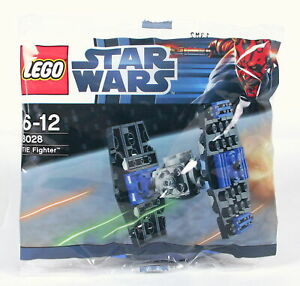 LEGO set STAR WARS IMPERIAL TIE FIGHTER promotional baggie toy 8028 - NEW!
