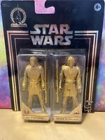 Obi-Wan Kenobi And Anakin Skywalker Star Wars Gold Commemorative Edition NEW!!