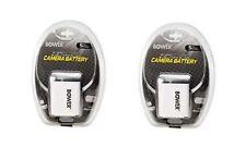 2X Batteries for Casio EX-Z20 EX-Z21 EX-Z22 EX-Z29 EX-Z80 EX-Z85 EX-Z90 EX-S10A