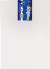 JOHAN SANTANA 2005 Leaf Certified Materials Mirror Blue Game Used Jersey 038/100