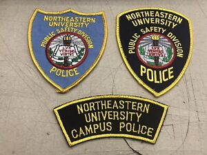 Northeastern University Boston Massachusetts Campus Police Public Safety Patch