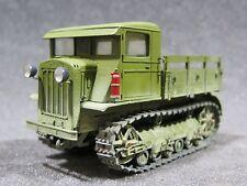 Mi0879 1/35 PRO BUILT - Resin Miniatur Models Soviet S-2 Artillery Tractor