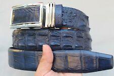 Unjointed -BLUE Genuine Alligator Crocodile Belt Skin Leather Men's  -W 1.5 inch