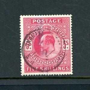 GB  1902 Edward VII  5s  (SG 263)  fine-used       (P696)