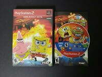 The SpongeBob SquarePants Movie (Sony PlayStation 2, 2004) PS2 Complete CIB VGC