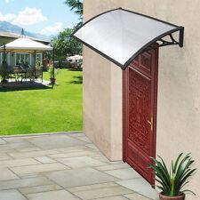 DOOR CANOPY RAIN SHELTER OUTDOOR PORCH SHADE AWNING RESIST UV PROTECT SUNLIGHT