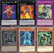 Kaze Complete Deck - Blade Armor Ninja - Super Transformation - Aqua - 42 Cards