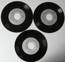 Earl Hines- Billy Eckstine: 45 Rpm Rca Collector Series 3Records 6 Songs Ex+