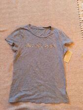 Michael Kors Womens Grey T-shirt Size 3