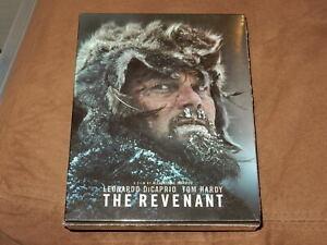 """BRAND NEW/SEALED """"THE REVENANT"""" FILMARENA BLU-RAY STEELBOOK OOP/1,000 FULL SLIP"""