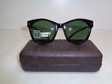 Spy + Optic MULHOLLAND Black Happy Grey Green Sunglasses New Womens Eyewear