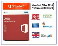 New Sealed Boxed Microsoft Office Professional 2016 PKC Card | SKU-269-16814