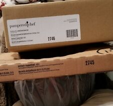 Pampered Chef NEW 5.25 QT. Nonstick Stock Pot and lid