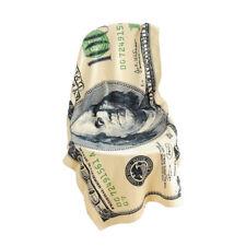 100 Dollar Bill Printed Beach Bath Towel Benjamin Franklin For Sunbath Swim