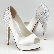 Paradox Peep Toes Bridal Shoes