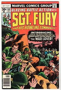 Sgt. Fury and His Howling Commandos #140, Very Fine Condition