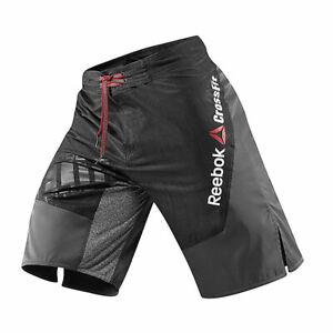 WOW Reebok Crossfit Canvas Board Shorts Denim Gravel Z23620 Men Size 2XL EUC B60