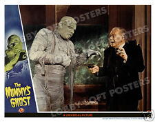 THE MUMMY'S GHOST LOBBY SCENE CARD # 2 POSTER 1944 KHARIS LON CHANEY JR