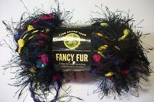 Lion Brand Fancy Fur eyelash yarn polyamide/poly 50 gr/39 yds #253 bold black