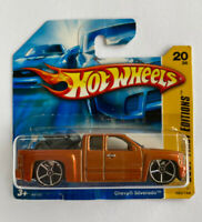 2007 Hotwheels Chevy Silverado Truck V8 Muscle Very Rare!