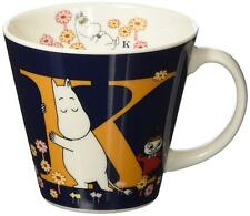 Moomin Initial Mug Cup K MM630-11K Little My Snork Maiden Yamaka from Japan