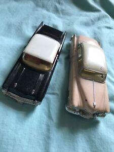 "Corgi And ERTL DIECAST PINK 1952 CADILLAC 62  5"" Plus Corgi Chevy Bel Air 1:43"