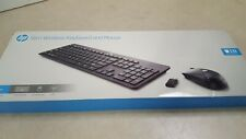 Hp Slim Wireless Keyboard And Mouse - Usb Wireless Rf Usb Wireless Rf Scroll