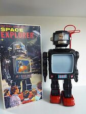RARE ROBOT SPACE EXPLORER HORIKAWA MADE IN JAPAN BOITE D'ORIGINE TBE NM+ VINTAGE